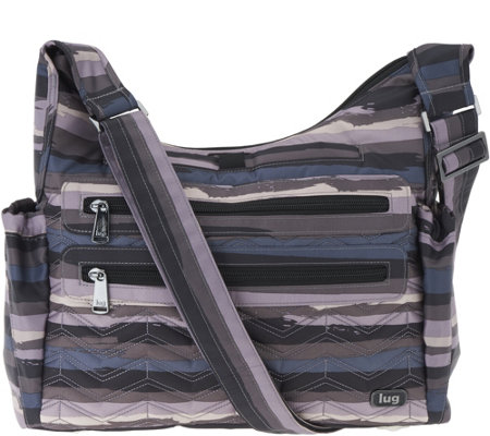 Lug Medium RFID Crossbody -Camper