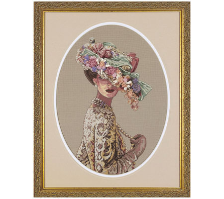 Gold Collection Victorian Elegance Counted Cross-Stitch Kit