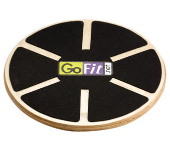 "Gofit GF-RWBBA 15"" Adjustable Wobble Board - F195444"