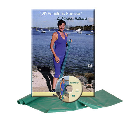 Mirabai Holland Fab Forever Stretch & Tone DVD&Latex Band
