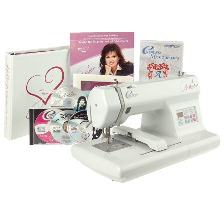 Marie Osmond EMotions Embroidery Machine  QVC