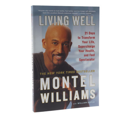"""Living Well"" Food & Health Book with Recipes by Montel Williams"
