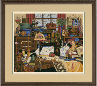 Gold Collection Maggie the Messmaker Counted Cross-stitch Kit - F156545