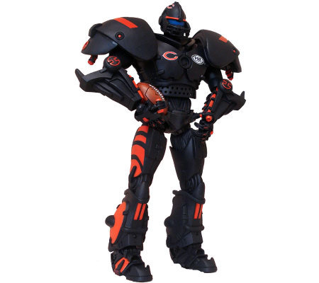 Nfl Chicago Bears Cleatus The Fox Sports Robot Qvc Com