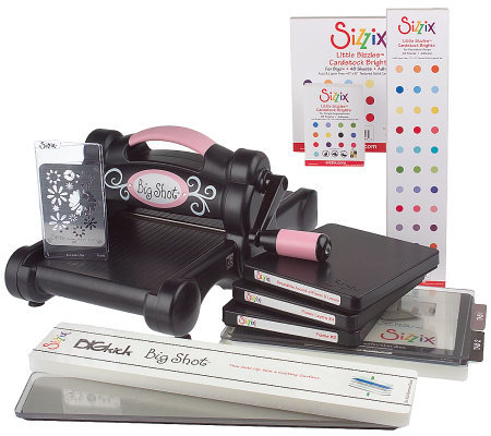 Sizzix Big Shot Die-cut &Emboss Machine with Adhesive Paper