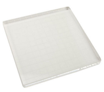 Acrylic Stamp Block with Alignment Grid - F188946