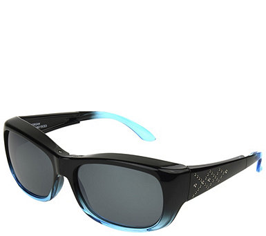 Haven Foldable Color Enhanced Lens Fits Over Sunglasses by Foster Grant - F13147