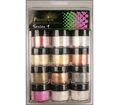 Pearl Ex Powdered Pigments 12 Color Set