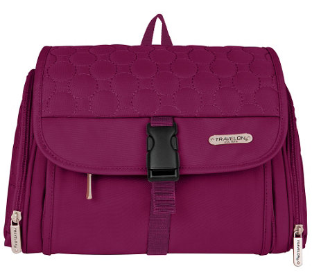 Travelon Fashion Colors Hanging Toiletry Kit