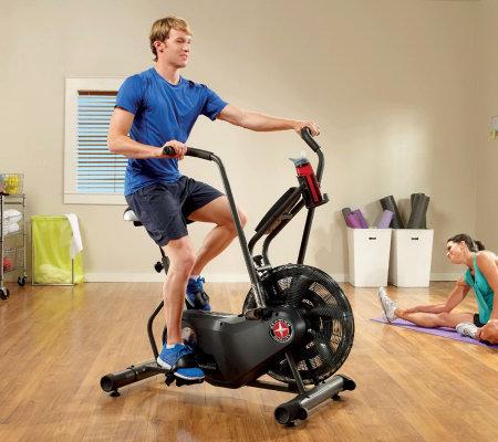 Schwinn Airdyne Ad6 Upright Exercise Bike Page 1