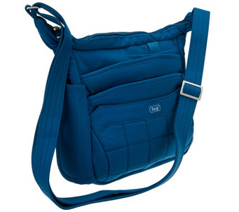 Lug Quilted Flutter Organized Crossbody Bag - F11648