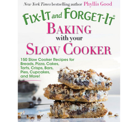 """As Is"" Fix-It and Forget-It Baking w/ Your Slow Cooker by Phyllis Good"