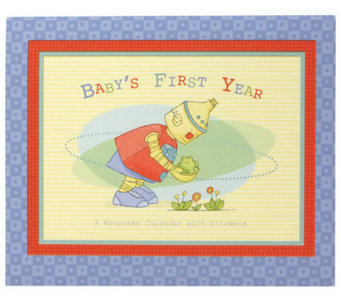 C.R. Gibson Baby Bots First Year Calendar - F245049
