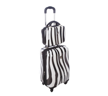 "Heys Exotic 19"" Spinner and Beauty Case"