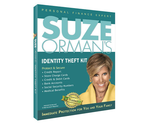 Suze Orman's Identity Theft Protect and Secure Kit