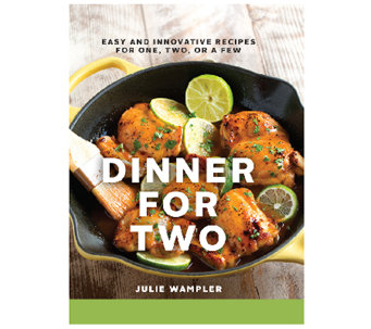 """Dinner for Two"" Cookbook by Julie Wampler - F12151"
