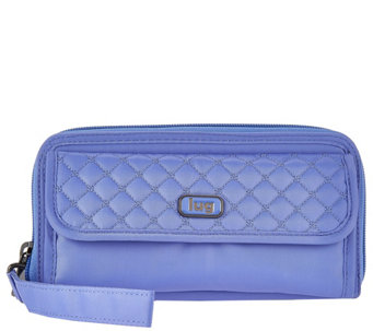 Lug Zip Around RFID Wallet - Quickstep - F12251