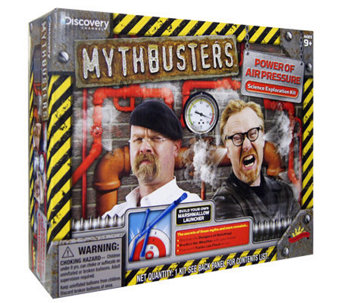 Mythbusters Power of Air Pressure - F248051