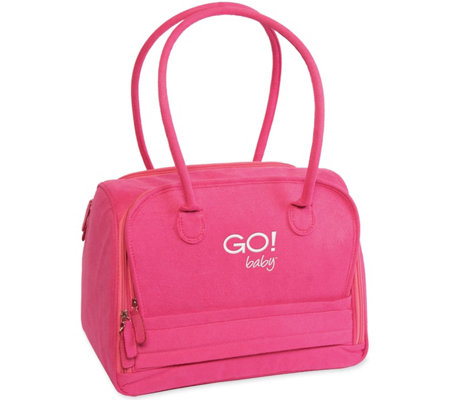 GO! Baby Fabric Cutter Tote Hot Pink