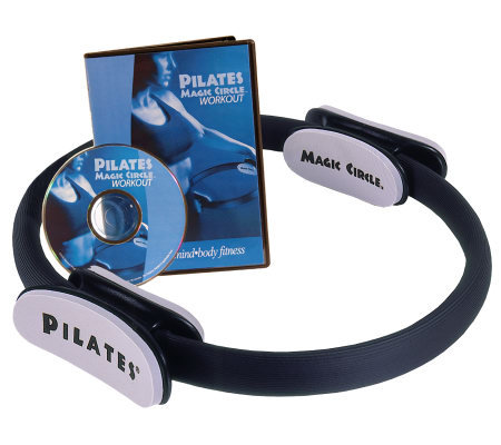 AeroPilates Magic Circle with Sculpt and Reshape Workout DVD