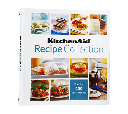"""KitchenAid Recipe Collection"" Cookbook Binder"