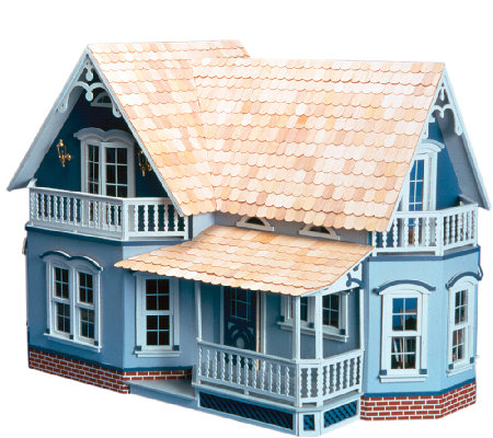 Magnolia All-Wood Dollhouse Kit