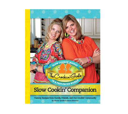 """Slow Cookin' Companion"" Cookbook by the Crockin' Girls"