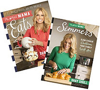"""Eats"" and ""Simmers"" Cookbook Bundle by The Mix and Match Mama - F12854"