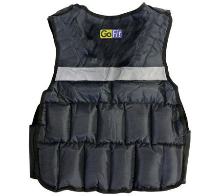 GoFit GF-WV20 20-lb Unisex Adjustable WeightedVest