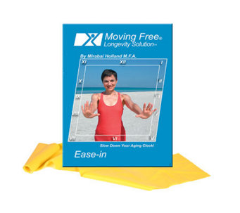 Mirabai Holland Ease-in Exercise DVD & Latex Band - F247454