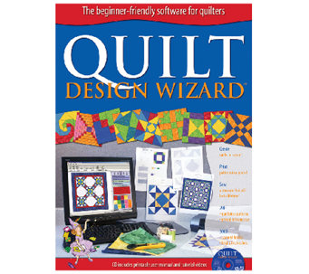 Quilt Design Wizard Software - F249154