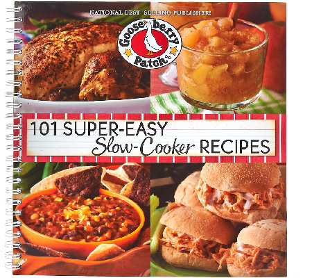 "Gooseberry Patch ""101"" Desserts and Slow Cooker 2-Book Set"