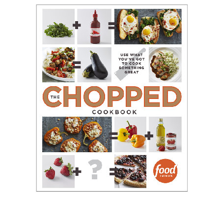 """The Chopped Cookbook"" by Food Network"
