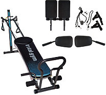 Total Gym Fusion with STEP Attachment & Pilates Kit - F12656