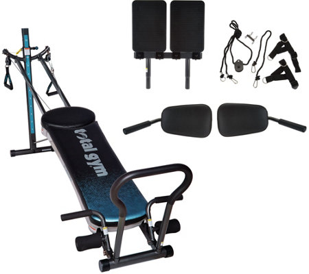 Total Gym Fusion with STEP Attachment & Pilates Kit