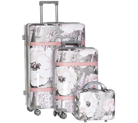 Triforce Luggage 3-Piece Hardside Set - Versailles