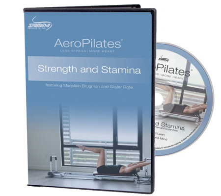 AeroPilates Strength and Stamina DVD