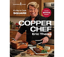 """The Copper Chef"" Cookbook by Eric Theiss - F12557"