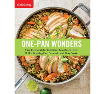 """One-Pan Wonders"" Cookbook by America's Test Kitchen - F12657"