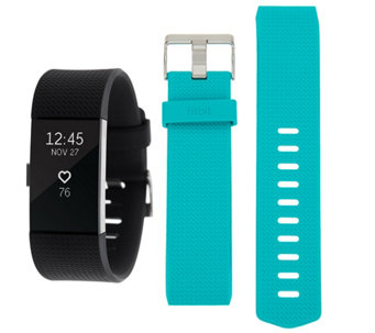 Fitbit Charge 2 Tracker with Additional Classic Band - F12757