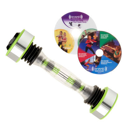 Shake Weight Pro Women's Adj. Resistance Workout System with 2 DVD's