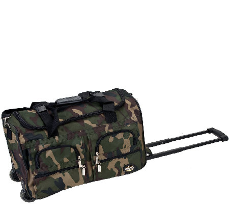 "Fox Luggage 22"" Rolling Duffel Bag"