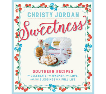 """Sweetness"" Cookbook by Christy Jordan - F12560"