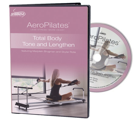 AeroPilates Total Body Tone and Lengthen DVD