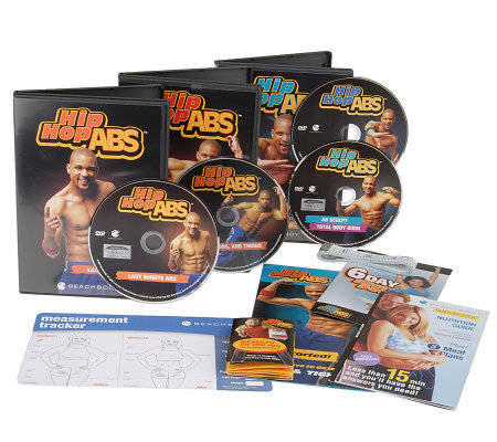 Hip Hop Abs DVD or VHS Dance Workout Program with Eating Plan