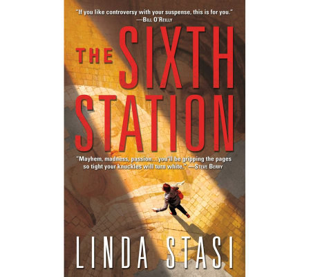 """The Sixth Station"" Hardcover Book by Linda Stasi"