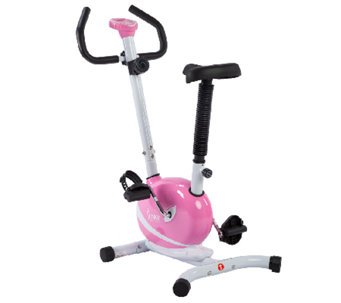 Sunny Health & Fitness Pink Magnetic Upright Bike - F248961