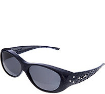 Jonathan Paul Diamond Dust Fitover Sunglasses with SwarovskiAccent - F12662