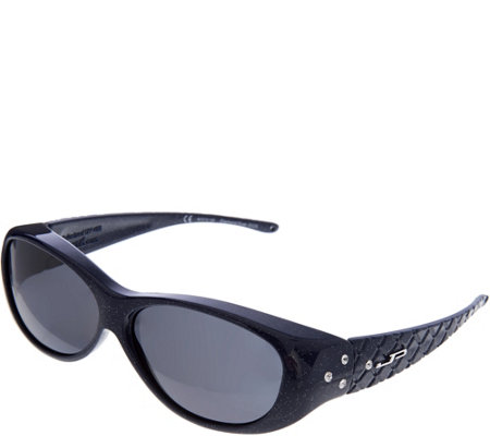 Jonathan Paul Diamond Dust Fitover Sunglasses with SwarovskiAccent