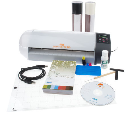 Silhouette SD Digital Craft Cutter with 50 Designs